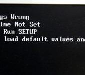 エラーメッセージが表示され、OS が起動しない【CMOS 編】